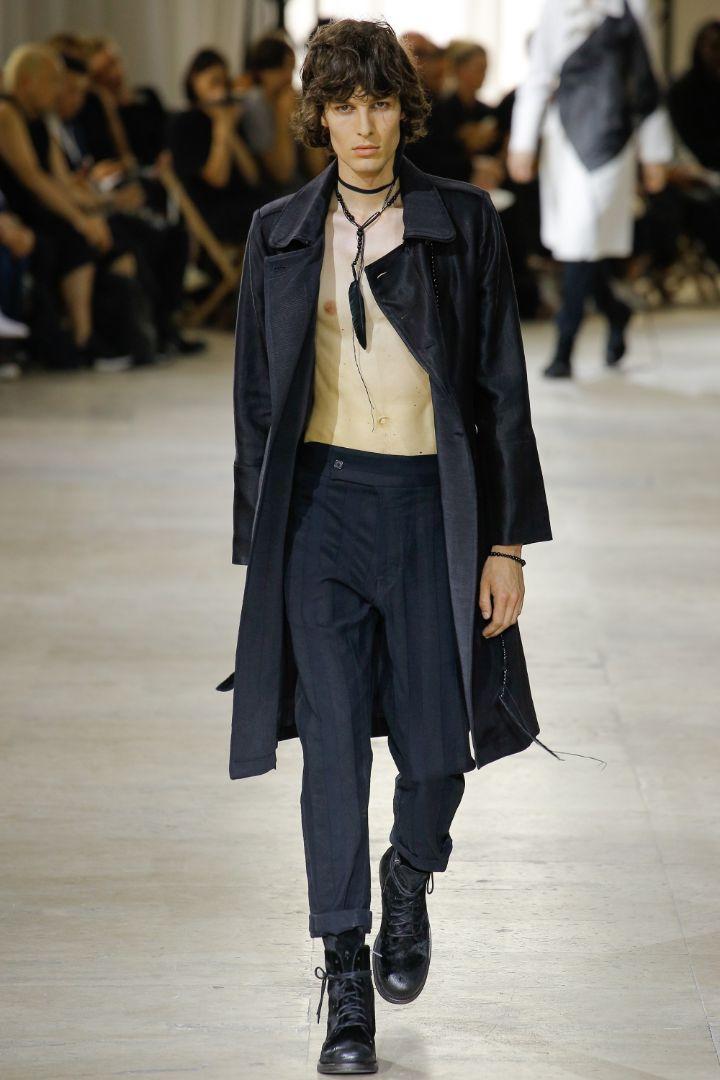 Ann Demeulemeester Menswear SS 2017 Paris (1)