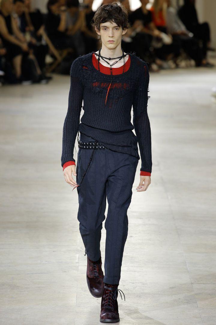 Ann Demeulemeester Menswear SS 2017 Paris (10)