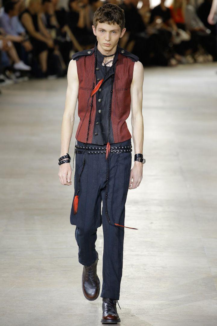 Ann Demeulemeester Menswear SS 2017 Paris (12)