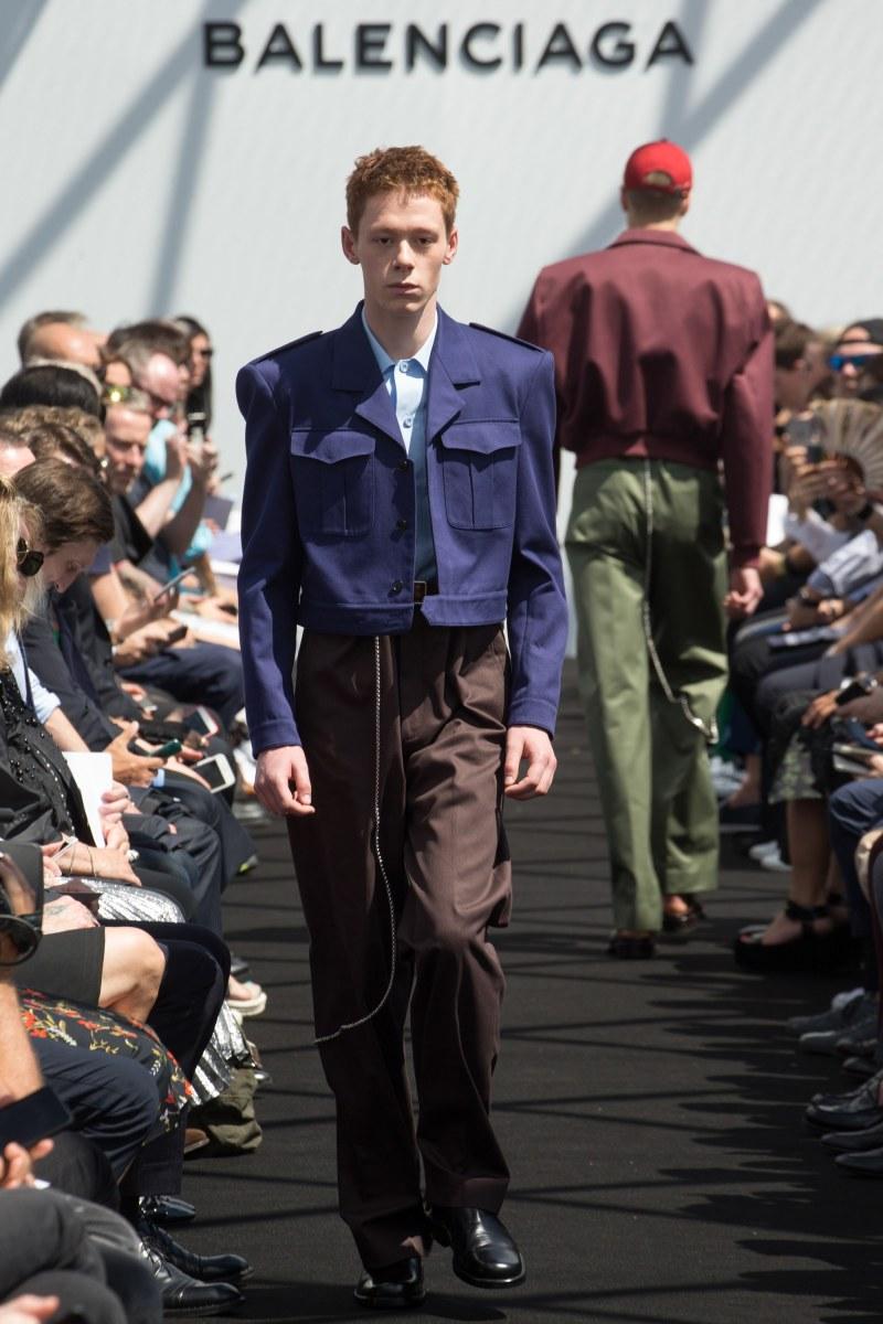 Balenciaga Menswear SS 2017 Paris (17)