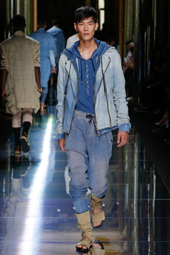 Balmain Menswear SS 2017 Paris (10)