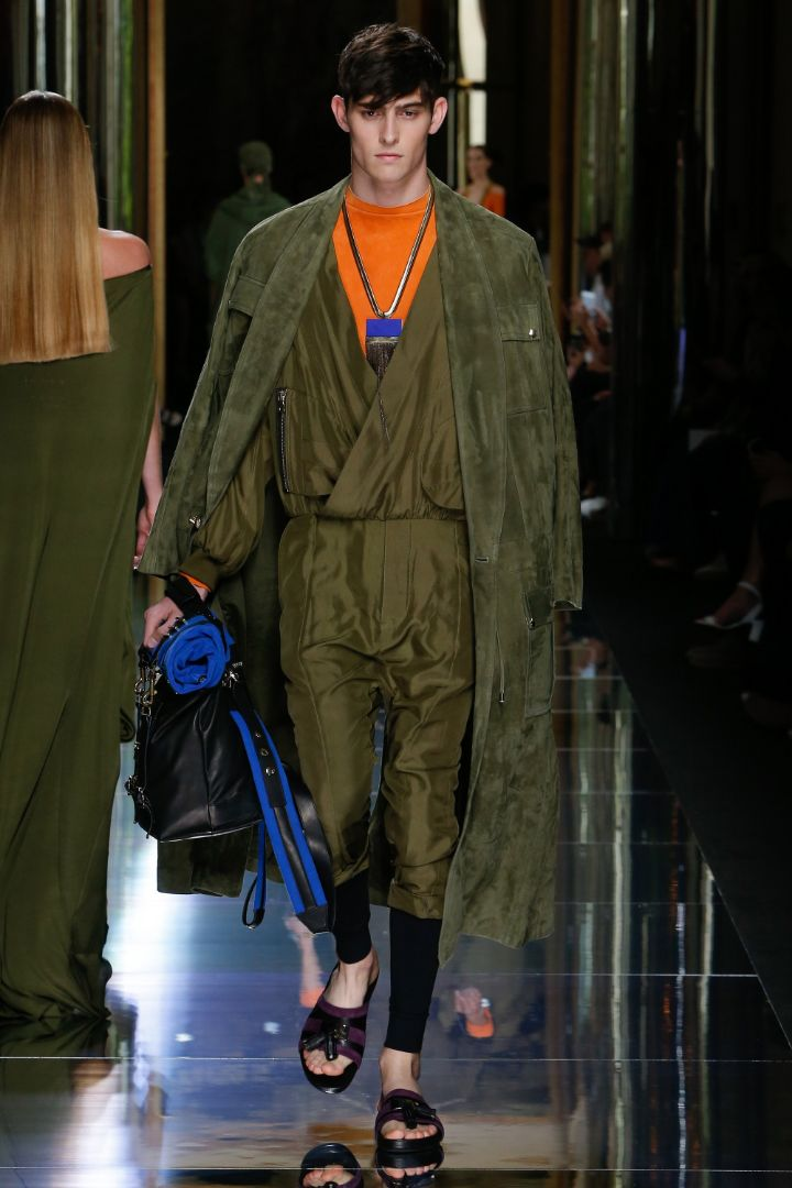 Balmain Menswear SS 2017 Paris (17)