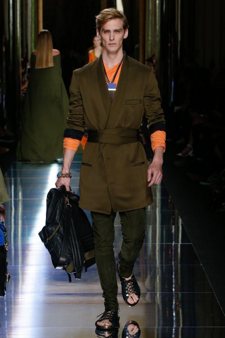 Balmain Menswear SS 2017 Paris (18)