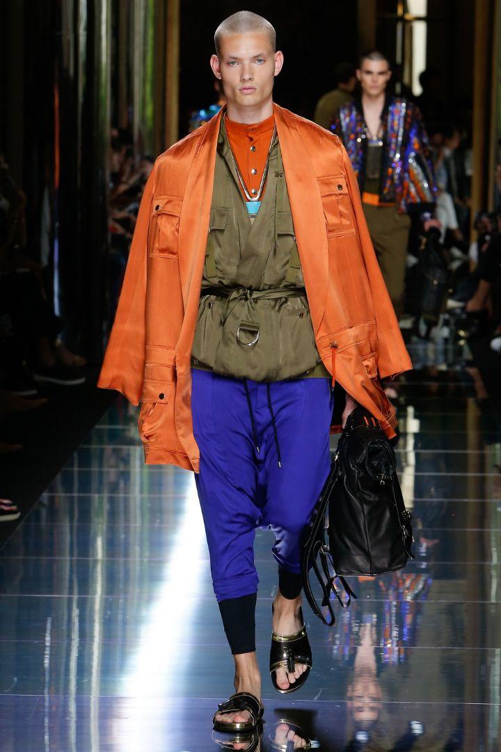 Balmain Menswear SS 2017 Paris (23)
