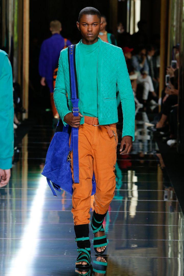 Balmain Menswear SS 2017 Paris (30)