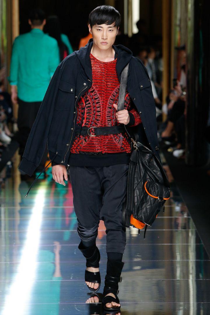 Balmain Menswear SS 2017 Paris (34)