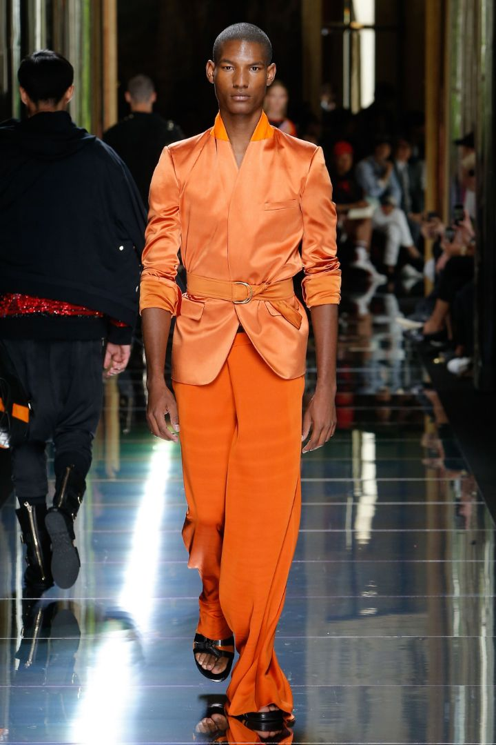 Balmain Menswear SS 2017 Paris (35)