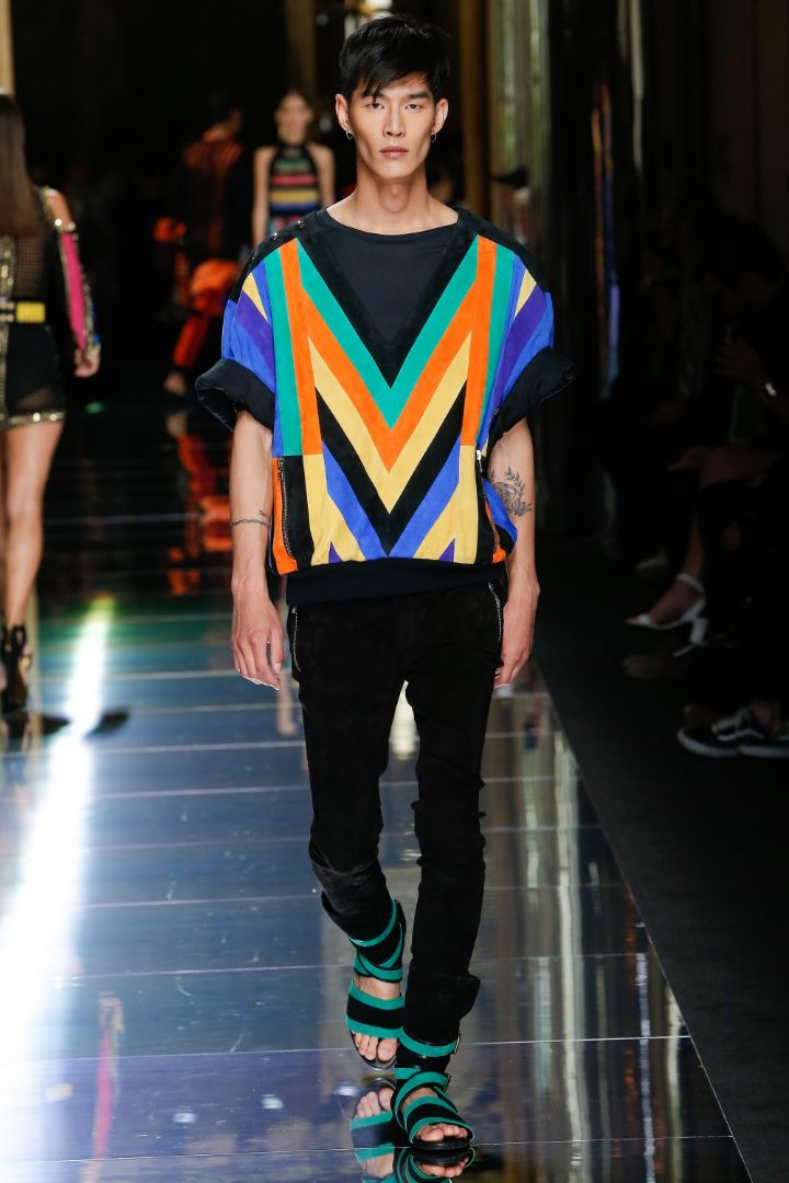 Balmain Menswear SS 2017 Paris (44)