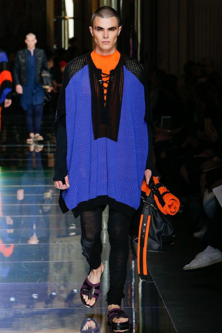 Balmain Menswear SS 2017 Paris (54)