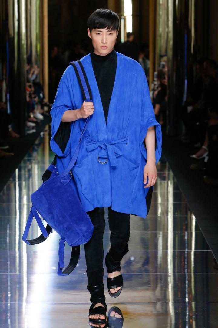 Balmain Menswear SS 2017 Paris (66)