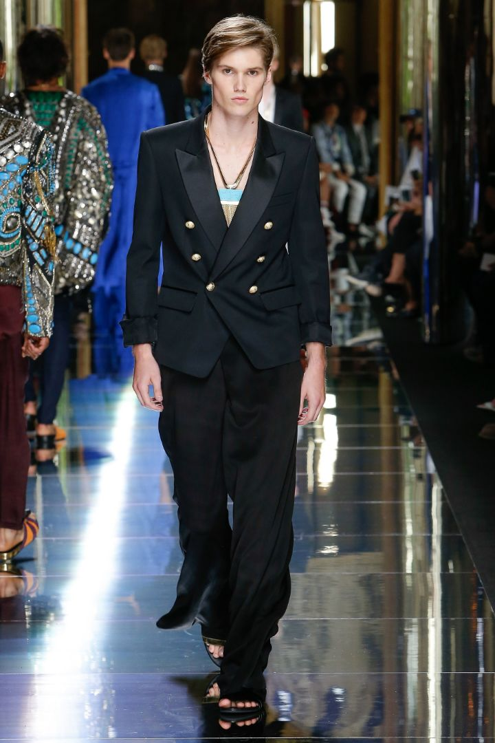 Balmain Menswear SS 2017 Paris (72)