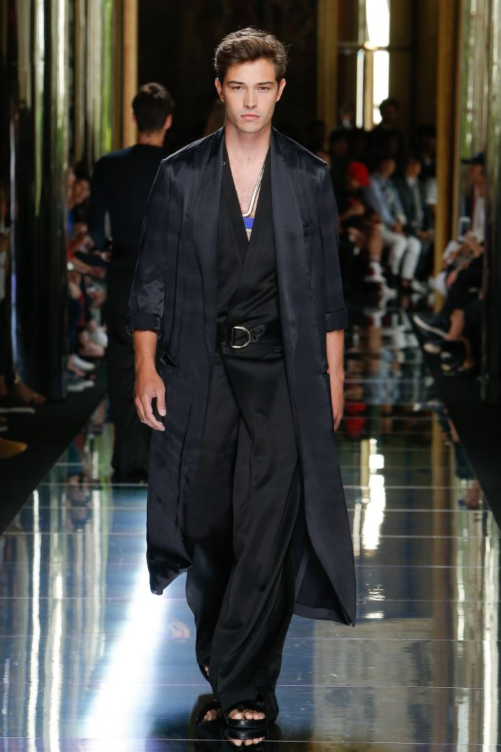 Balmain Menswear SS 2017 Paris (79)