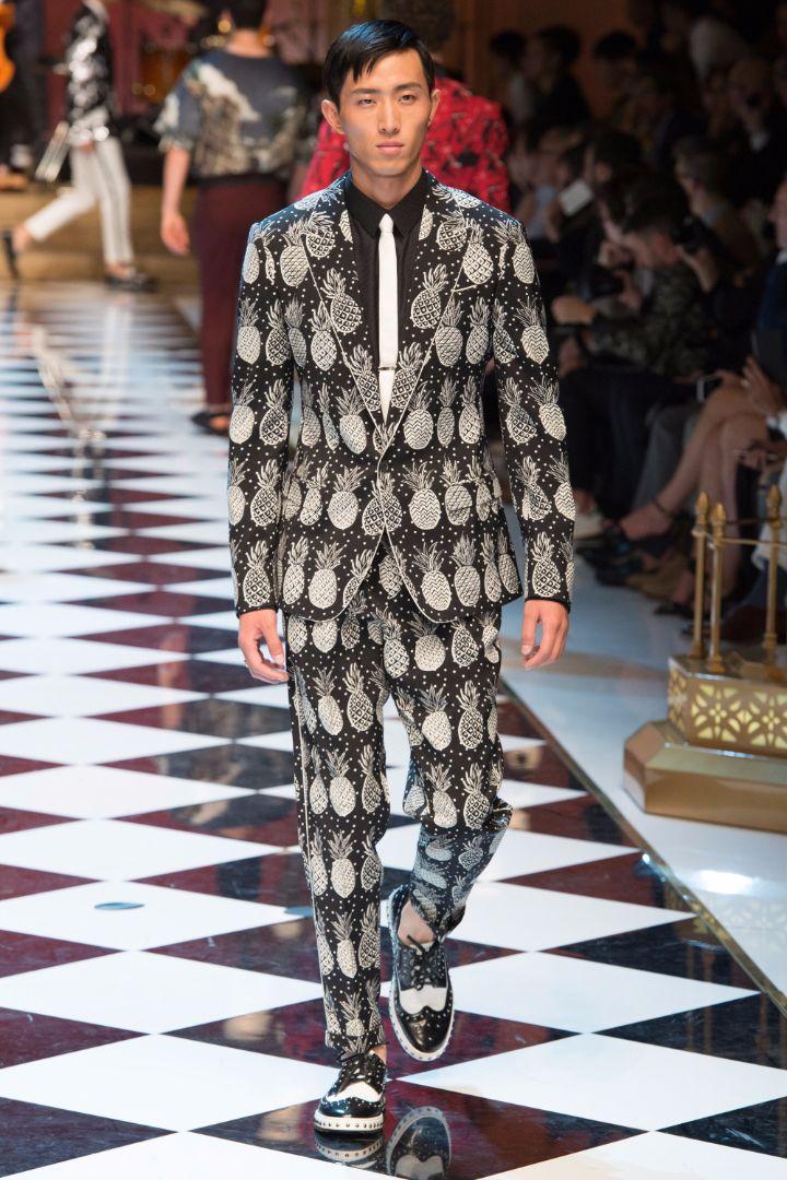 Dolce & Gabbana Menswear SS 2017 Milan (21)