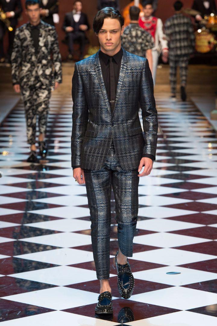 Dolce & Gabbana Menswear SS 2017 Milan (25)