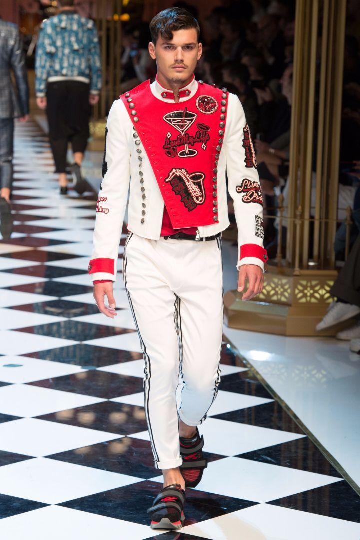 Dolce & Gabbana Menswear SS 2017 Milan (27)