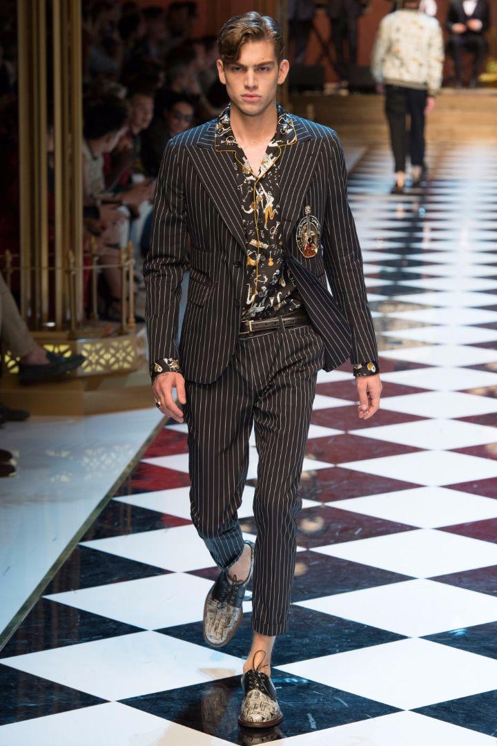 Dolce & Gabbana Menswear SS 2017 Milan (41)