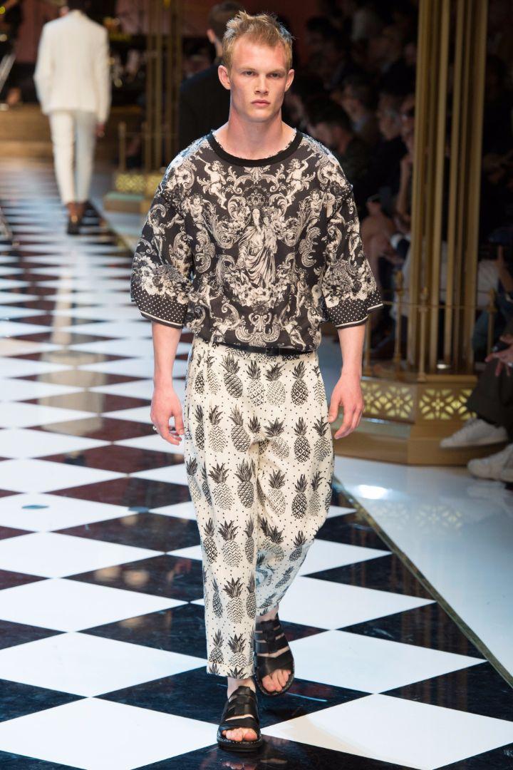 Dolce & Gabbana Menswear SS 2017 Milan (42)