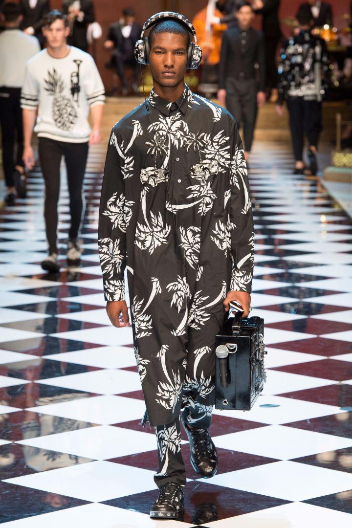 Dolce & Gabbana Menswear SS 2017 Milan (52)