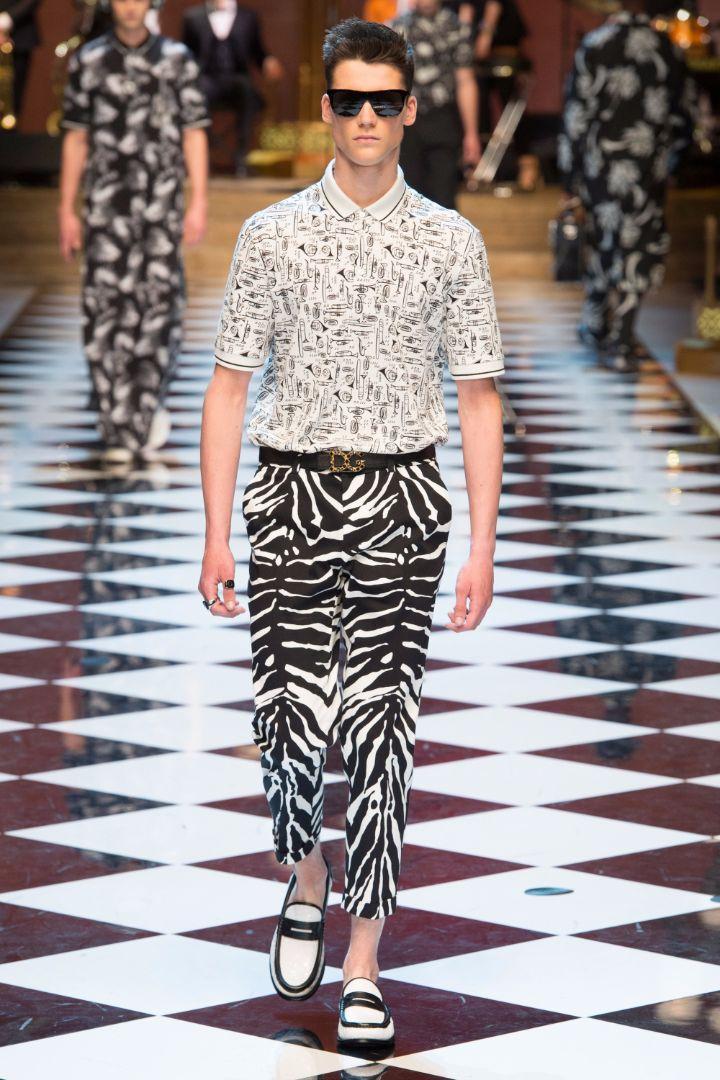 Dolce & Gabbana Menswear SS 2017 Milan (55)