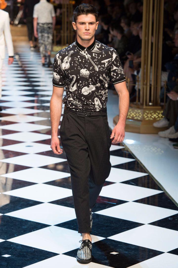 Dolce & Gabbana Menswear SS 2017 Milan (57)
