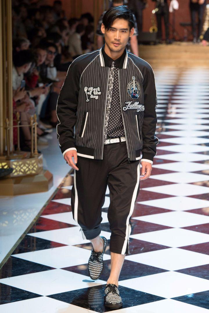 Dolce & Gabbana Menswear SS 2017 Milan (59)