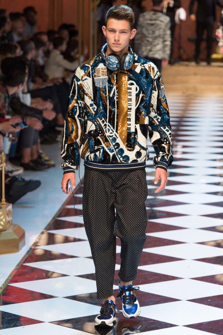 Dolce & Gabbana Menswear SS 2017 Milan (68)