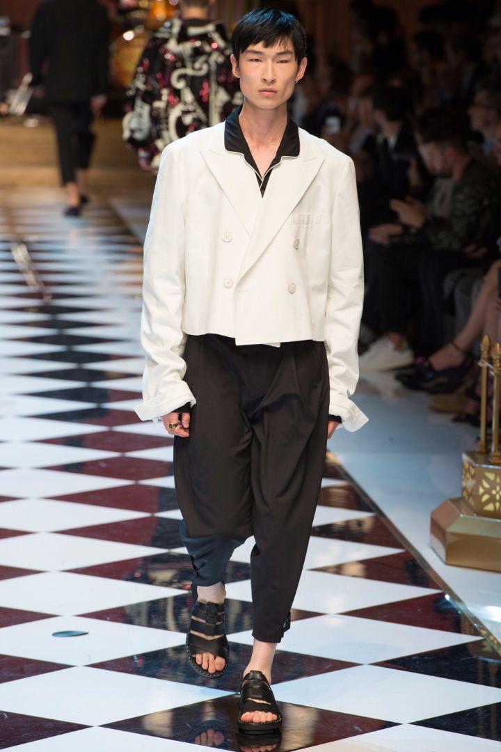 Dolce & Gabbana Menswear SS 2017 Milan (72)