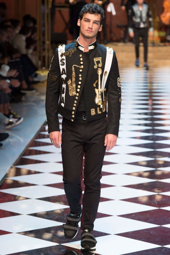 Dolce & Gabbana Menswear SS 2017 Milan (77)