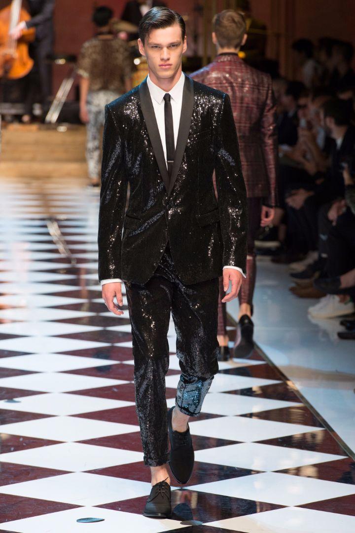 Dolce & Gabbana Menswear SS 2017 Milan (78)