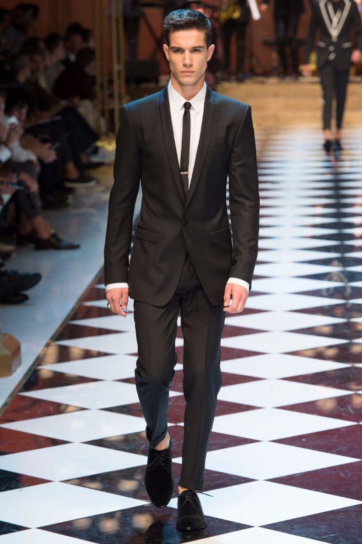 Dolce & Gabbana Menswear SS 2017 Milan (83)