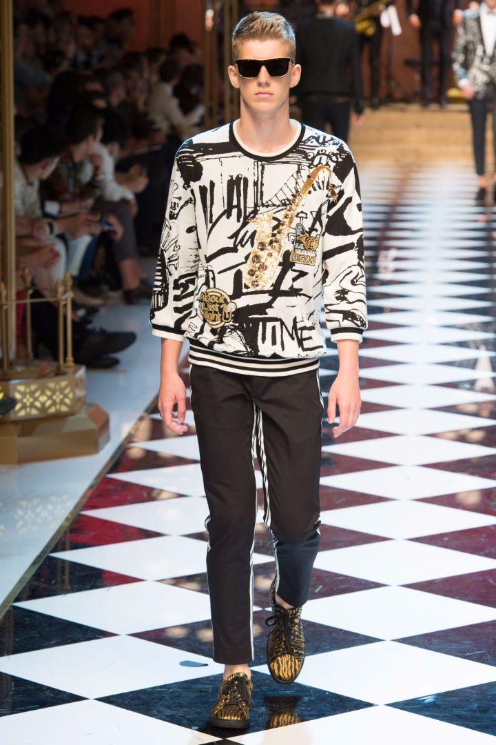 Dolce & Gabbana Menswear SS 2017 Milan (92)