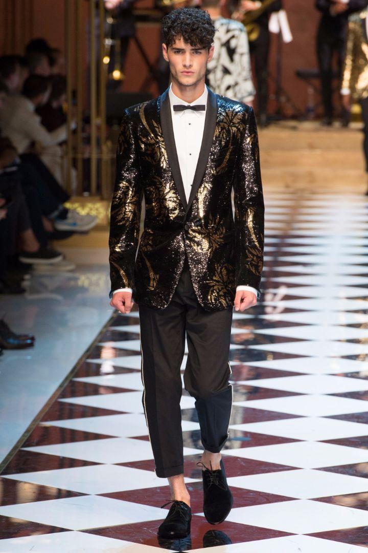Dolce & Gabbana Menswear SS 2017 Milan (95)
