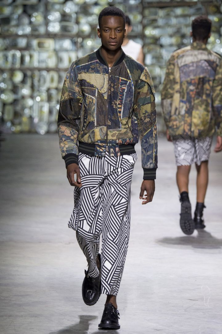 Dries Van Noten Menswear SS 2017 Paris (19)