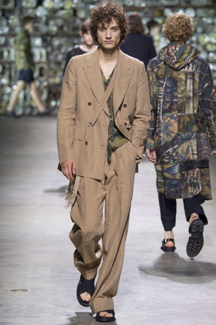 Dries Van Noten Menswear SS 2017 Paris (27)