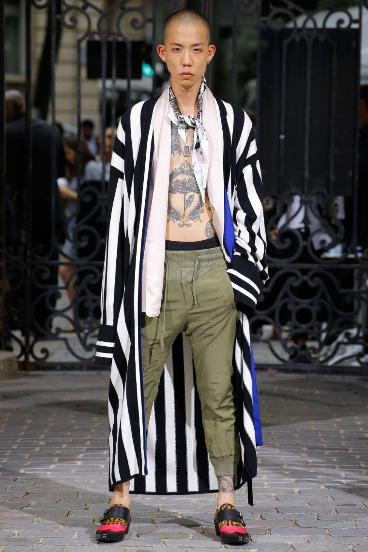 Haider Ackermann Menswear SS 2017 Paris (16)