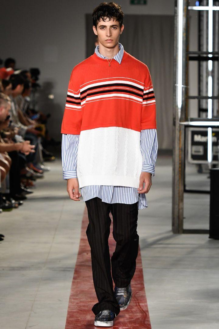 MSGM Menswear SS 2017 Milan (3)