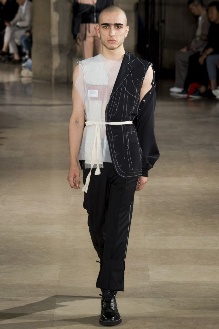 Maison Margiela Menswear SS 2017 Paris (28)