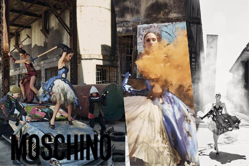 Moschino FW 2017 Campaign by Steven Meisel (3)