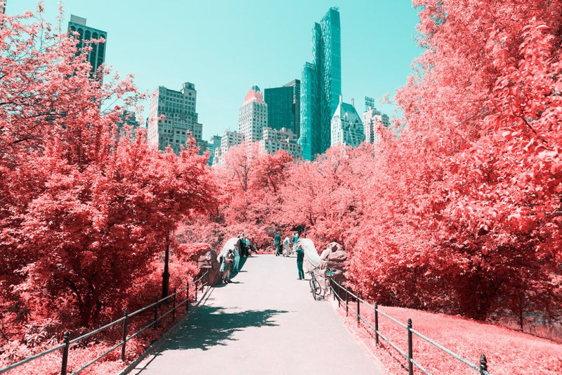 New York in Infrared Photography Series (1)