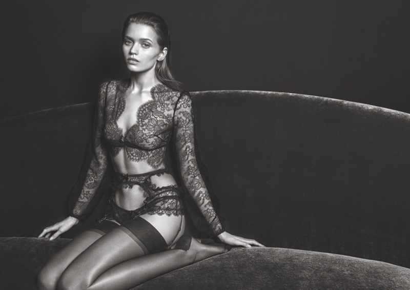 Agent Provocateur's FW 2016 Campaign ft. Abbey Lee Kershaw (7)
