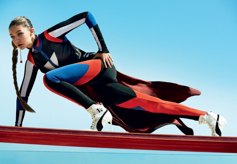 Gigi Hadid & Ashton Eaton by Mario Testino (6)