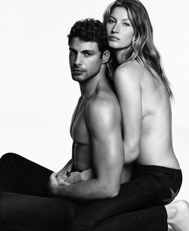 Givenchy Jeans FW 16.17 ft. Gisele Bundchen & Caua Reymond (1)