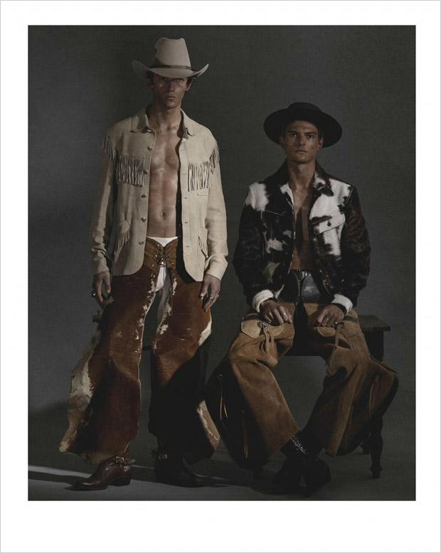Guerrino Santulliana & Miles Hurley by Derek Henderson (2)