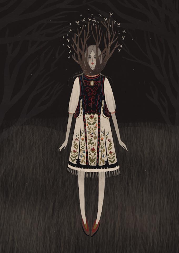 Illustrations by Alexandra Dvornikova (5)
