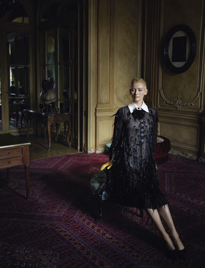 Tilda Swinton by Yelena Yemchuk (3)