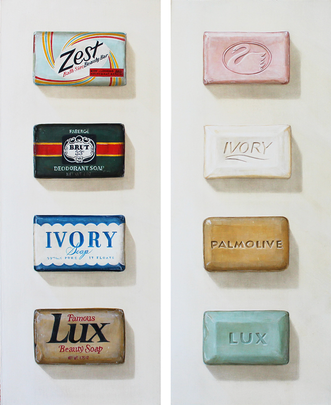Vintage Item Paintings by Holly Farrell (4)