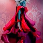 Viola Podkopaeva by Miles Aldridge