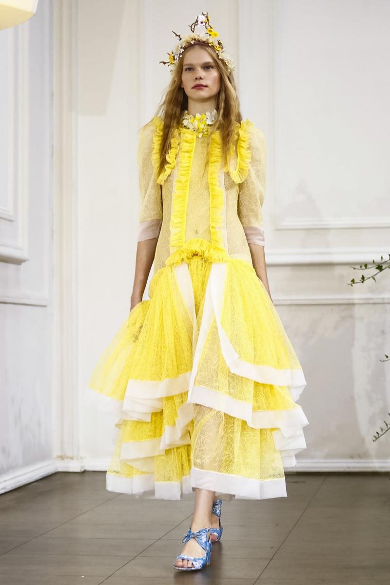 Bora Aksu Fashion Show, Ready to Wear Collection Spring Summer 2017 in London