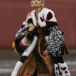 Martha Hunt by Hans Feurer