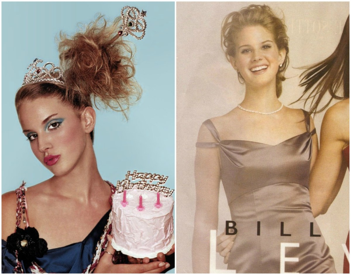 Lana Del Reys Teen Modeling Career  Graveravens-2208